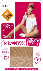nur die Strumpfhose Sneaker-Style amber, 20 DEN Gr. 40/44