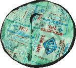dm-drogerie markt Beadbags 2-in-1 Tasche und Decke, türkis