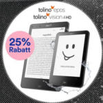 Thalia -25% auf tolino vision 4 HD + tolino epos - bis 26.11.2018