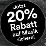 Thalia -20% auf Musik - bis 26.11.2018