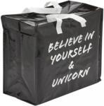 Möbelix Einkaufstasche Passage Schwarz, Weiß
