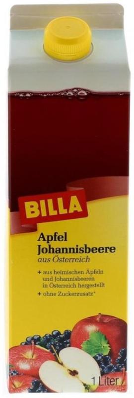 BILLA Österreichischer Apfel-Johannisbeersaft