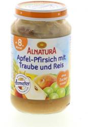 Alnatura Apfel-Pfirsich mit Traube & Reis