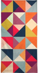 "Handtuch ""Bright Geometric Happy Pattern"", Juniqe"