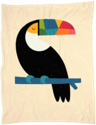 Wohndecke »Rainbow Toucan«, Juniqe