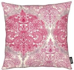 Dekokissen, »Happy Place Doodle in Pink«, Juniqe