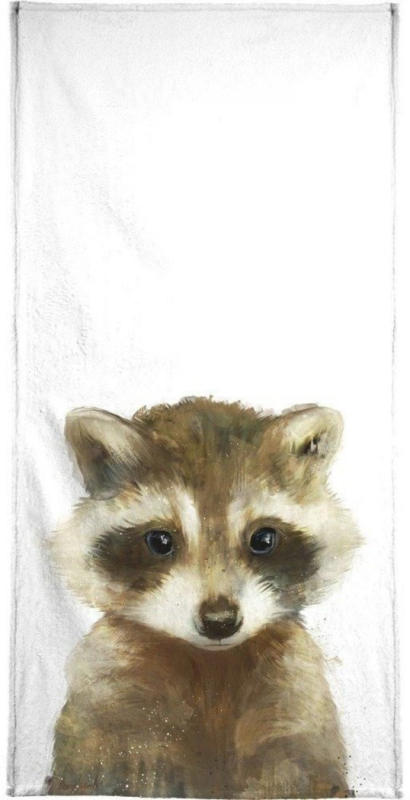 "Handtuch ""Little Raccoon"", Juniqe"