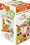 dm-drogerie markt Freche Freunde Quetschbeutel 100% Apfel, Birne & Karotte ab 1 Jahr, 4x100g