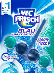dm-drogerie markt WC-Frisch WC-Reiniger Kraft-Aktiv Blauspüler Ozean-Frische