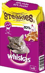 Whiskas Snack für Katzen, Steakies mit Huhn