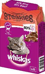 Whiskas Snack für Katzen, Steakies mit Rind