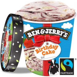 Neu Testbericht Zu Ben Jerry S Birthday Cake Eis Mit Kuchen