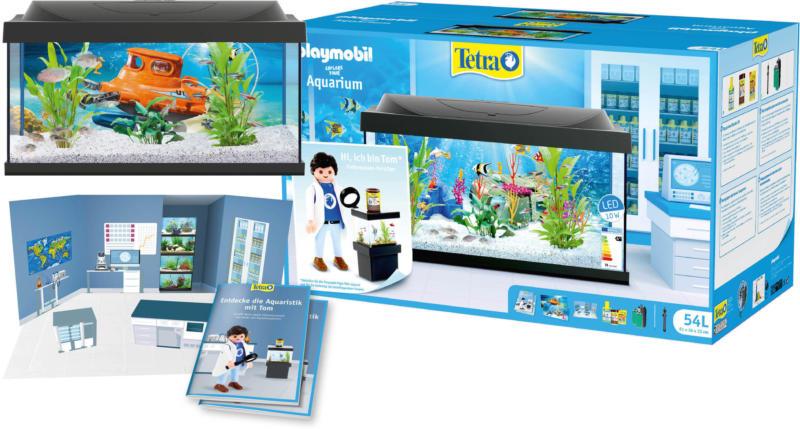 TETRA Aquarium Komplett-Set playmobil 54 l