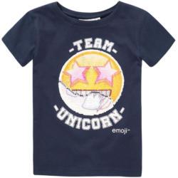 Emoji T-Shirt mit Wendepailletten