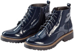 Damen Boots in Lack-Optik
