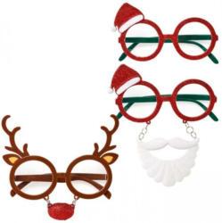 Verrückte Weihnachtsbrille in verschiedenen Ausführungen
