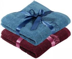 Handtuch mit Satin-Geschenkband, 50x100cm