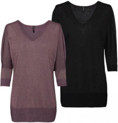 Damen-Pullover mit raffinierten Ärmeln