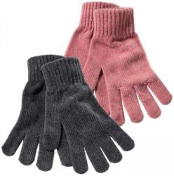 Damen-Strick-Fleecehandschuhe aus samtweichem Chenille