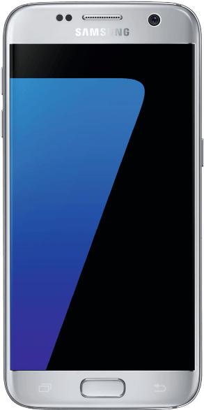 Smartphones - SAMSUNG Galaxy S7 32 GB Silver-Titanium