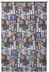 Seitenzugrollo »Bani«, Bruno Banani, verdunkelnd, ohne Bohren, freihängend