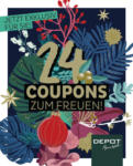 DEPOT Advents-couponheft 2018 - bis 14.02.2019