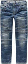 Jungen Straight-Jeans mit Knienähten