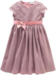 Festliches Baby Kleid mit Effektgarn
