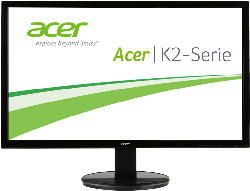PC Monitore 22.3 bis 26.9 Zoll - ACER K242HQLC 23.6 Zoll Full-HD Monitor (1 ms Reaktionszeit, 60 Hz)