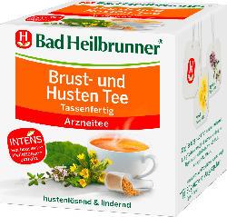 Bad Heilbrunner Brust- und Husten Tee, tassenfertig