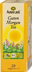 Alnatura Guten Morgen Tee, 20 x 1,5g