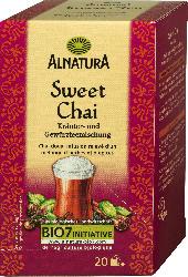 Alnatura Sweet Chai Tee, 20 x 2g