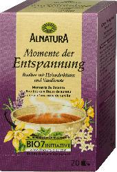 Alnatura Momente der Entspannung Tee, 20 x 2g
