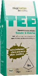 Stick & Lembke Kräuter & Matcha Tee, 18 x 2 g