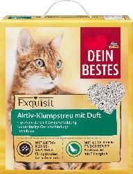 Dein Bestes Aktiv-Klumpstreu mit Duft für Katzen, Exquisit Aloe Vera