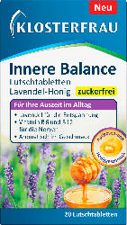 Klosterfrau Innere Balance Lutschtabletten Lavendel-Honig 20 St.