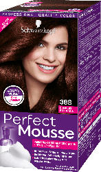 Schwarzkopf Perfect Mousse Haarfarbe Schaum Dunkles Rotbraun 388, 1 St