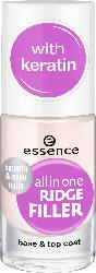 essence cosmetics Nagelpflege all in one ridge filler