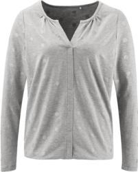 Damen Langarmshirt mit Punkte-Print