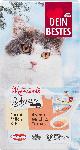 dm-drogerie markt Dein Bestes Snack für Katzen, Schnurr, 4 x mit Milch und Ei, 4 x mit Milch und Tomate, 8 St