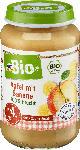 dm-drogerie markt dmBio Apfel mit Banane nach dem 4. Monat, Demeter