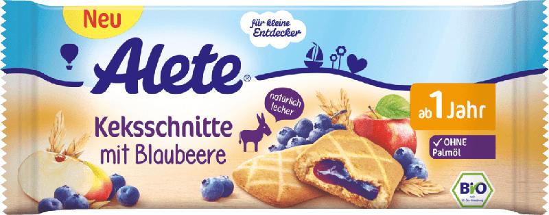 Alete Snack Kekschnitte mit Blaubeere ab 1 Jahr