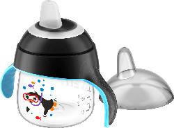"Philips AVENT Trinkbecher ""Pinguin"", Sip No Drip 200ml, ab 6 Monate, schwarz"