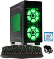 HYRICAN Gaming PC Intel® i7-8700 16GB HDD SSD GeForce RTX 2080 »Striker 6057«