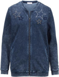 Laura Kent Sweatjacke in Oil-Dyed Waschung