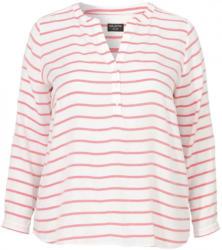 VIA APPIA DUE Luftiges Blusen-Shirt mit Ringelmuster