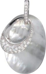 Firetti Anhänger »925/- Sterling Silber Perlmutt & Zirkonia«