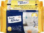 dm-drogerie markt Sanft&Sicher Feuchtes Toilettenpapier Classic Kamille Doppelpack (2x70 Stück)