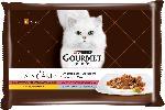 dm-drogerie markt GOURMET à la carte Nassfutter für Katzen, A la Carte, Raffinessen, 4x85g