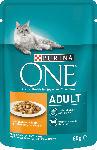 dm-drogerie markt PURINA ONE Nassfutter für Katzen, Adult mit Huhn & grünen Bohnen in Soße